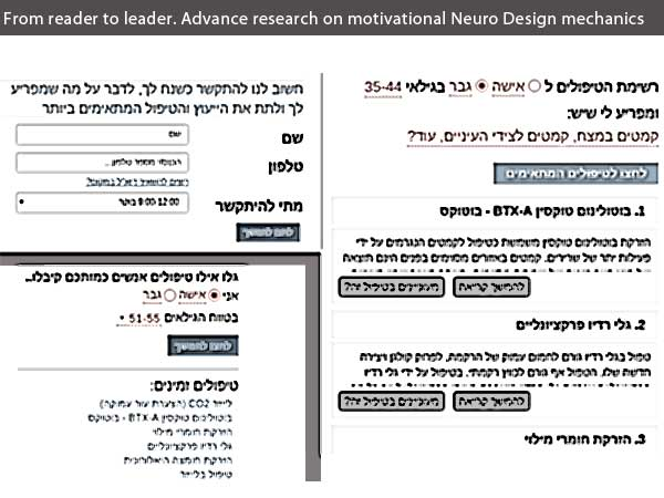 From reader to leader. Advance research on motivational Neuro Design mechanics